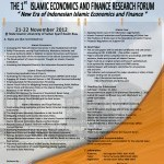 the-1st--islamic-economics-and-finance-research-forum
